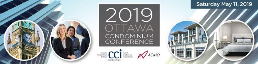 2019 Ottawa Condominium Conference Banner